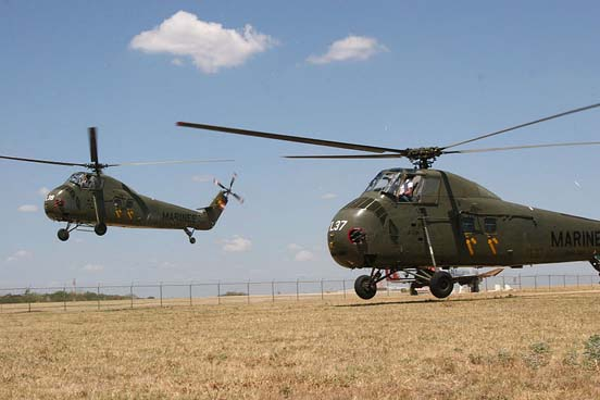 UH-34Ds of the US Marines