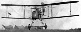 Early DH.2 taking off from airfield at Beauvel, France