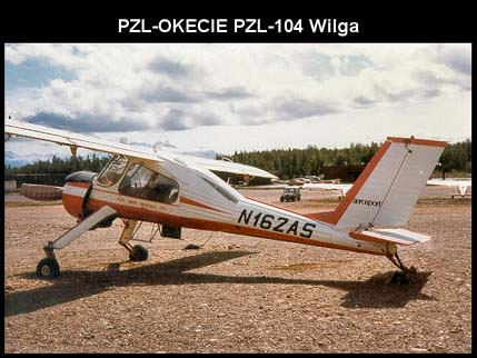 PZL-104 Wilga 35, rear view