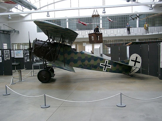 Fokker D.VII preserved in the Deutsches Museum