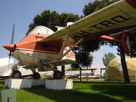 Transavia PL-12-300 Airtruk preserved at the Museo del Aire at Cuatro Vientos airfield near Madrid