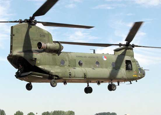 CH-47D of the Royal Netherlands Air Force