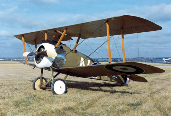 Replica of Camel F.I flown by Lt. George A. Vaughn Jr., 17th Aero Squadron
