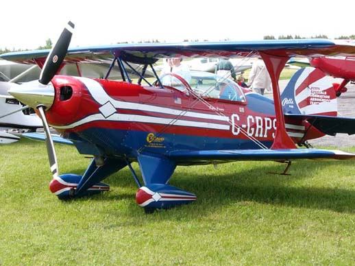 Christen Industries S-2B Pitts Special belonging to the Pitts Specials Formation Aerobatic Team