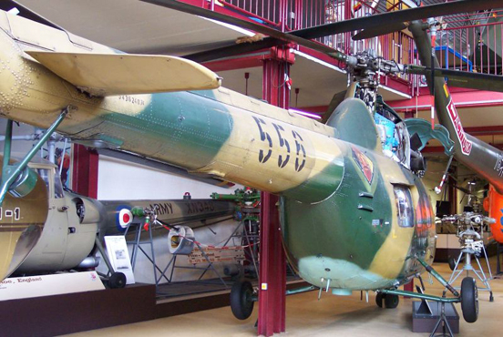 Ex-East German Air Force Mi-2 in Hubschrauber Museum, Bückeburg