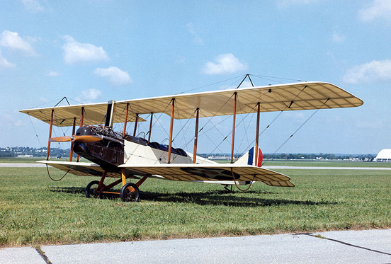 A veteran reconditioned Standard J-1, which is often confused with the Curtiss JN-4