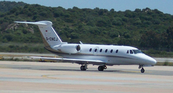 German-registered Cessna Citation VII