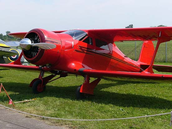 Vintage Wings of Canada Beechcraft D17S Staggerwing