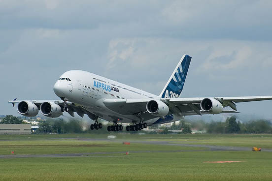 The Airbus A380 is the world's largest and widest passenger aircraft
