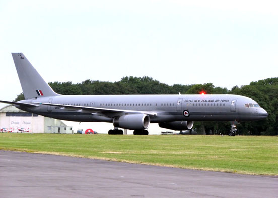 Royal New Zealand Air Force 757-200 (NZ7572)