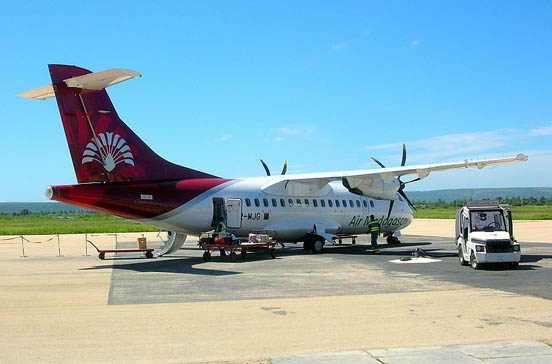 ATR 42-500 at Toliara Airport, Madagascar