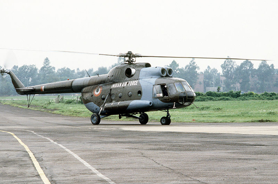 Indian Air Force's Mil Mi-8