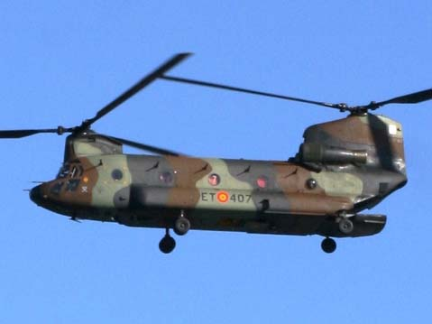 CH-47D of the Spanish Army in 2009