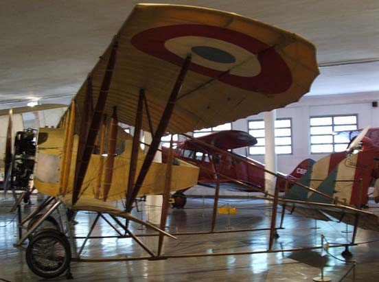 Caudron G3 in the Airspace Museum in Rio de Janeiro