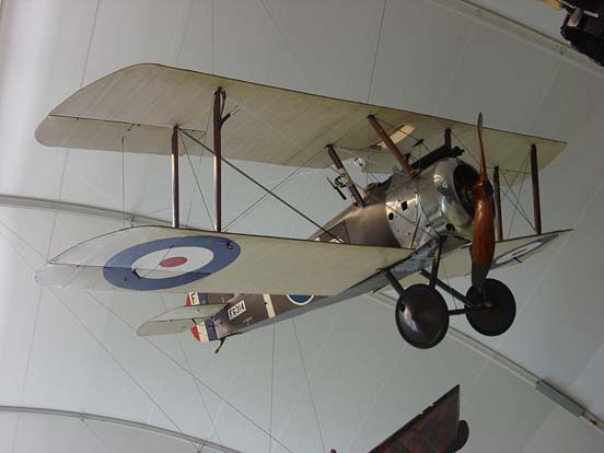 Sopwith Camel at the RAF Museum, London