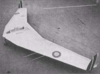 The AW.52G experimental glider