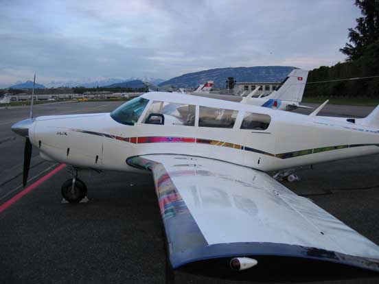 PA-24-260B with custom paint