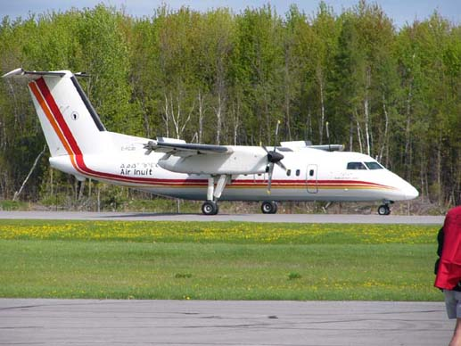 DHC-8-102 of Air Inuit