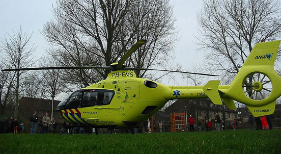 Air ambulance of the Dutch ANWB Medical Air Assistance