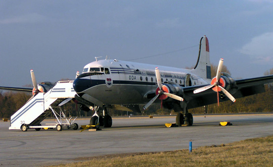 C-54 painted as a DC-4