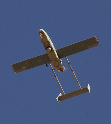 IAI Pioneer UAV flying over Iraq