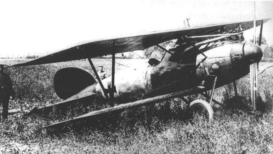 Manfred von Richthofen's Albatros D.V (serial unknown)
