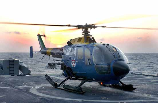 A Bo 105CB of the Mexican Navy.