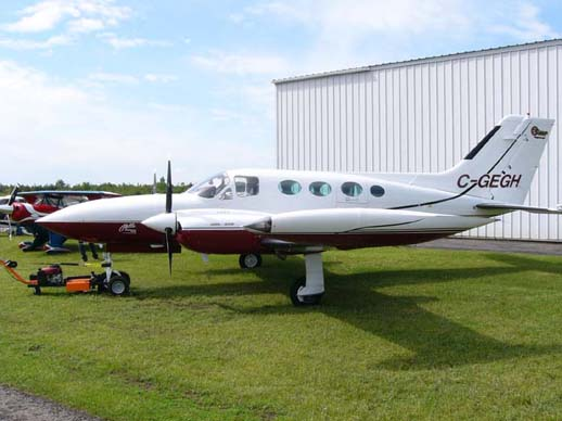 Cessna 421B Golden Eagle with aftermarket RAM modified engines