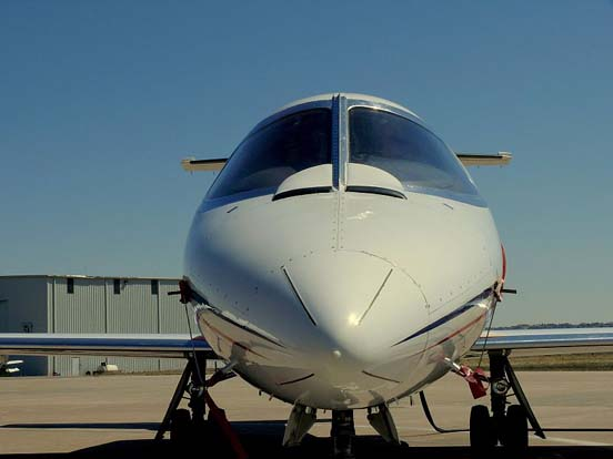 Learjet 25D. It flies lifeguard (medevac) missions out of Centennial Airport
