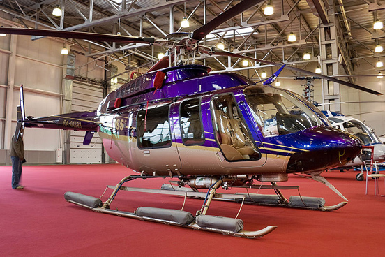 Bell 407 at HeliRussia 2008