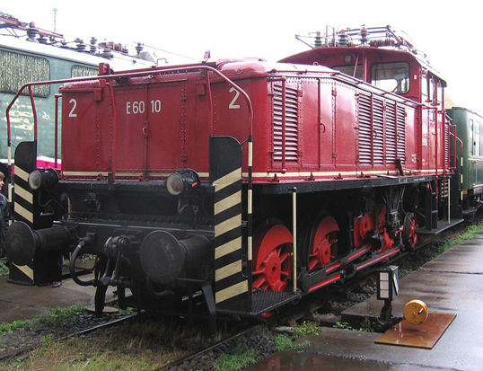 AEG electric locomotive.