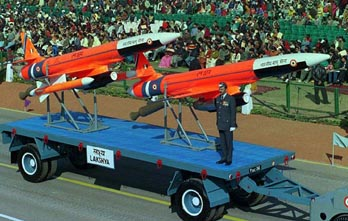 The Lakshya PTA Combat UAV at the Indian Republic Day Parade.