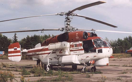 Kamov Ka-32S of Omega Helicopters at Moscow Bykovo airfield in 2004