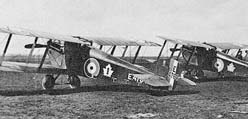 Canadian Air Force Dolphins of No. 1 (Fighter) Squadron at RAF Upper Heyford, December 1918