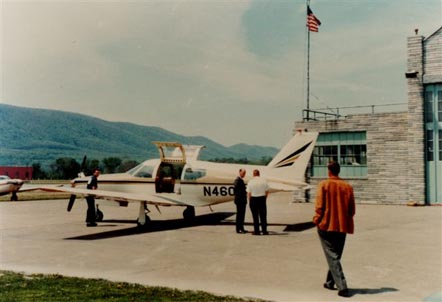 The PA-33 Pressurized Comanche prototype