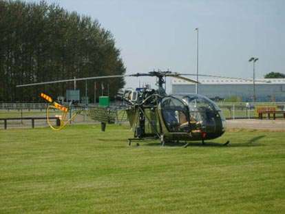 British Army Air Corps Alouette.