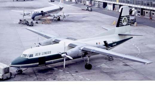 Aer Lingus were the first airline to operate the F.27 Friendship