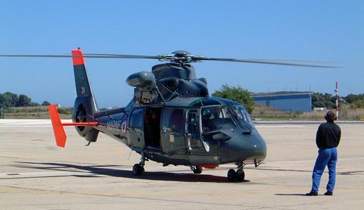 Dauphin SA 365N SP (Public Service) of the French Navy 35F wing detachment in Hyères