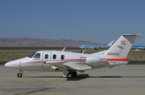 Flight test aircraft at Mojave