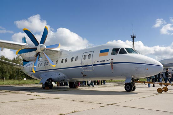 Antonov An-140. Gostomel, Ukraine, 2008