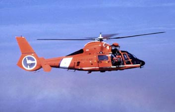 US Coast Guard HH-65A Dolphin