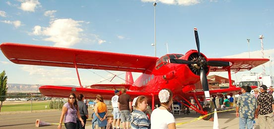 An-2 at Grand Junction aviation show.