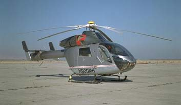 MD 900 (N900MH) Helicopter Noise Abatement Test