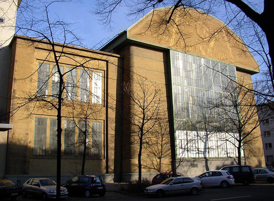 Building of AEG Turbinefabrik (architect Peter Behrens)