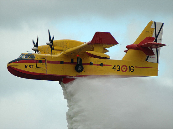 Canadair CL-215T of the Spanish Air Force