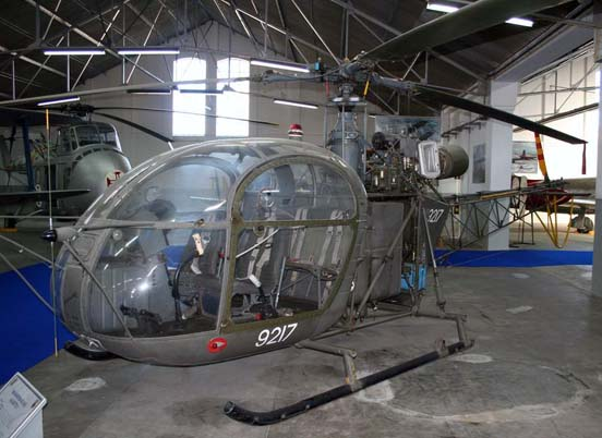 Alouette II of the Portuguese Air Force