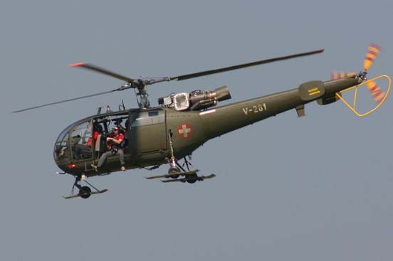 Aérospatiale SA 316 Alouette III of the Swiss Air Force