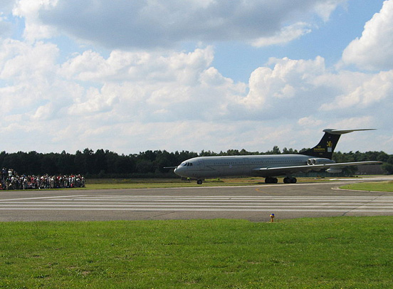 Vickers VC10 at the Belgian Air Force base of Kleine Brogel