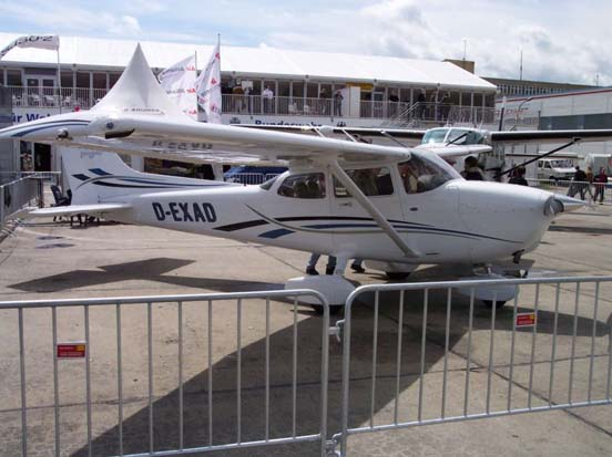 A Cessna 172S Skyhawk at ILA 2006