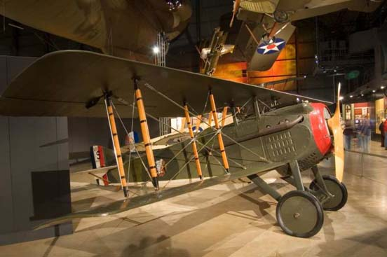 SPAD S.VII at the National Museum of the US Air Force